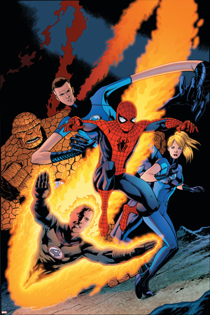 The Amazing Spider-Man No. 590 Cover: Spider-Man Fotografía por Barry Kitson