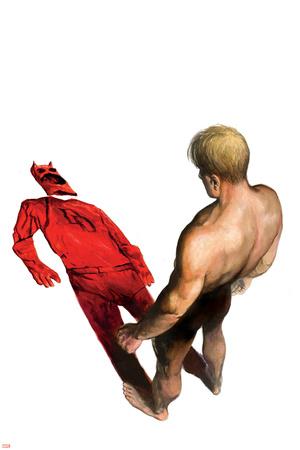 Daredevil No.70 Cover: Murdock, Matt and Daredevil Prints by Alex Maleev