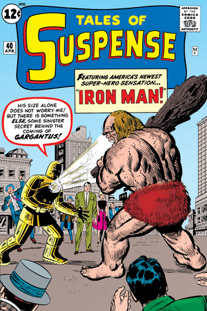 Tales Of Suspense: Iron Man No.42 Cover: Iron Man and Gargantus Photo by Jack Kirby