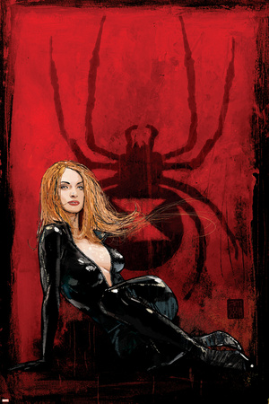 Daredevil No.63 Cover: Black Widow Posters by Alex Maleev