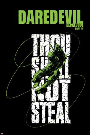 Daredevil 74 Cover: Daredevil Jumping Posters