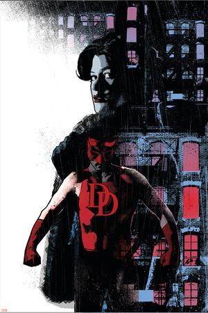 Daredevil Noir No.2 Cover: Daredevil Prints by Tomm Coker