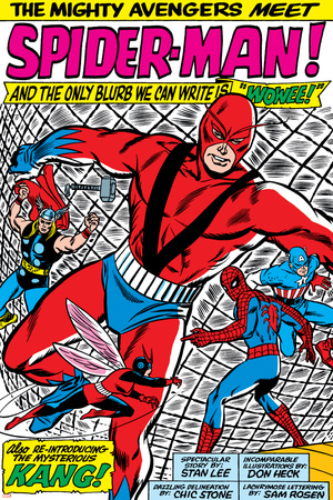 Avengers Classic No.11 Group: Spider-Man, Giant Man and Wasp Photo by Don Heck