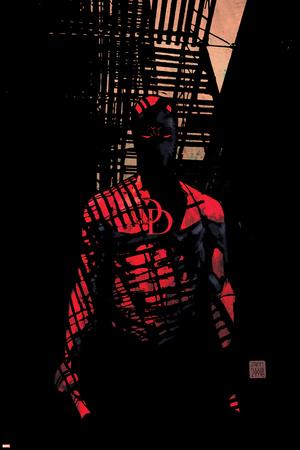 Daredevil No.60 Cover: Daredevil Prints by Alex Maleev