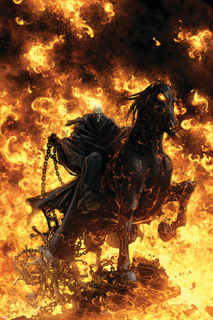Ghost Rider: Trail Of Tears No.6 Cover: Ghost Rider Posters