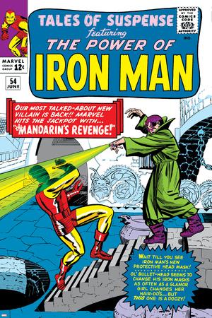 Tales Of Suspense No.54 Cover: Iron Man and Mandarin Print by Don Heck
