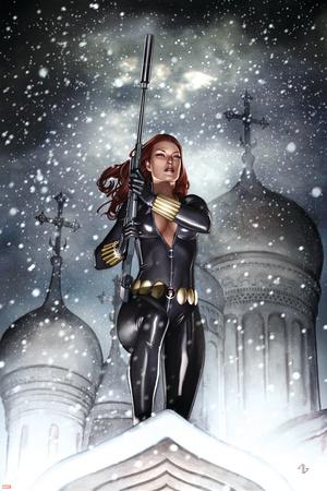Black Widow: Deadly Origins No.2 Cover: Black Widow Photo by Adi Granov