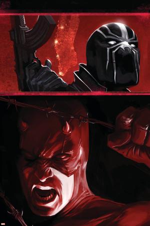 Daredevil: Blood Of The Tarantula No.1 Cover: Daredevil and Black Tarantula Posters