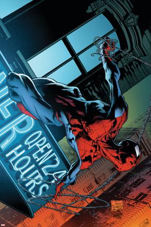 The Amazing Spider-Man No.592 Cover: Spider-Man Prints by Joe Quesada