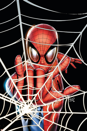 Amazing Spider-Man Family No.1 Cover: Spider-Man Prints by Adi Granov