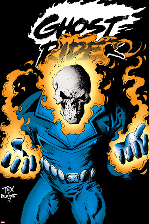 Ghost Rider: Highway To Hell Cover: Ghost Rider Prints by Mark Texeira