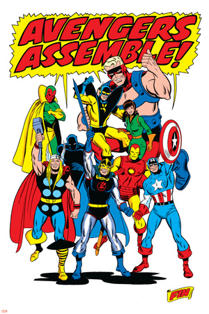 Giant-Size Avengers/Invaders No.1 Group: Thor Prints by Sal Buscema