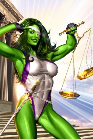 She-Hulk No.1 Cover: She-Hulk Photo
