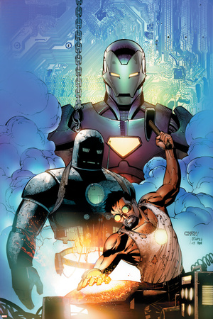 Iron Man: Requiem One Shot Cover: Stark and Tony Prints by Sean Chen