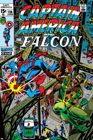 Captain America & The Falcon No.13 Cover: Captain America, Falcon and Spider-Man Posters by John