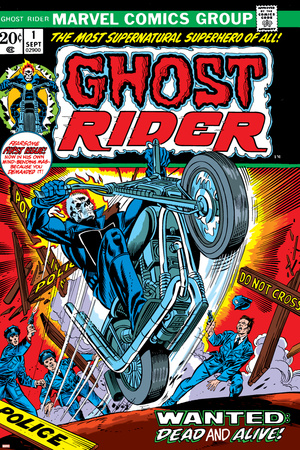 Ghost Rider No.1 Cover: Ghost Rider Prints by Tom Sutton