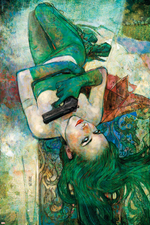 Spider-Woman 4 Cover: Madame Hydra Print by Alex Maleev