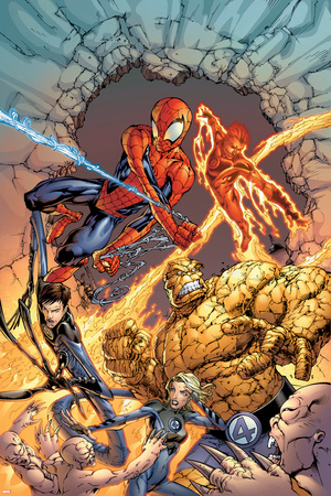 Spider-Man Team-Up Special No.1 Group: Spider-Man Pósters por Shane Davis