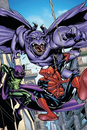 Marvel Adventures Spider-Man No.47 Cover: Spider-Man Poster by Sanford Greene