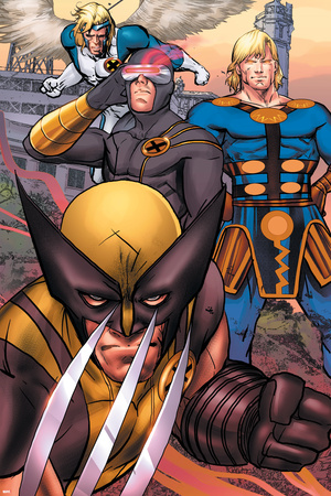 Eternals No.7 Group: Ikaris, Wolverine and Cyclops Posters by Eric Nguyen