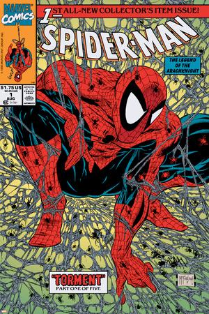 Spider-Man No.1 Cover: Spider-Man Láminas por Todd McFarlane