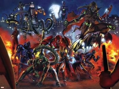 Secret War No.3 Group: Scorpion, Shocker, Hobgoblin, Doctor Octopus and Grim Reaper Posters