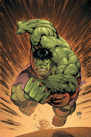 Marvel Adventures Hulk No.14 Cover: Hulk Photo by David Nakayama