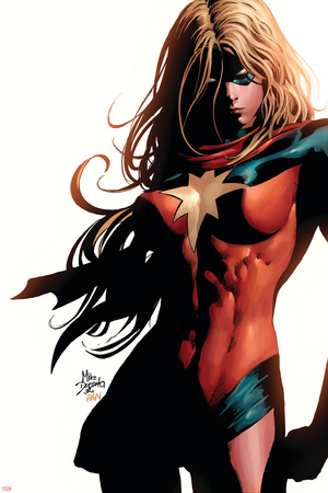 Ms. Marvel No.39 Cover: Ms. Marvel Photo by Mike Deodato