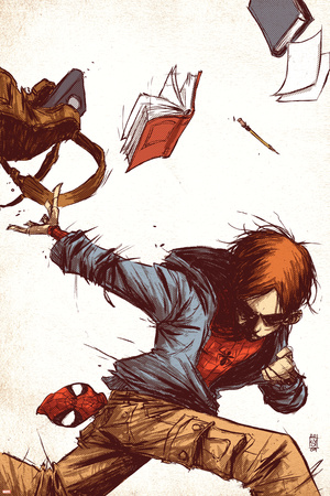 Marvel Adventures Spider-Man No.53 Cover: Peter Parker Posters by Skottie Young