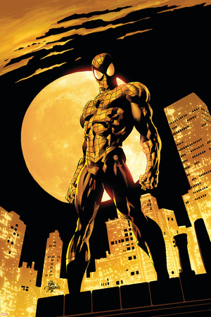 Amazing Spider-Man No.528 Cover: Spider-Man Print by Mike Deodato