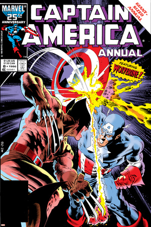 Captain America versus Wolverine issue number 8