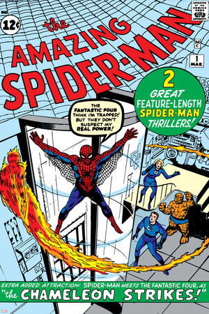 Amazing Spider-Man No.1 Cover: Spider-Man Photo by Steve Ditko