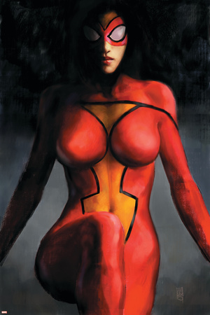 Spider-Woman No.1 Cover: Spider Woman Prints by Alex Maleev