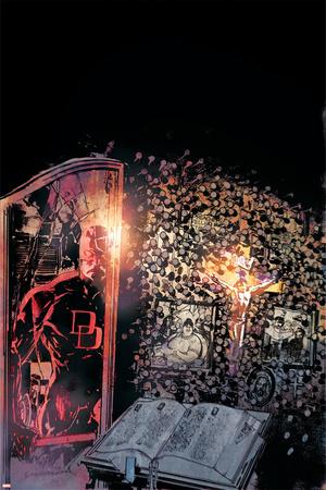 Daredevil: Redemption No.3 Cover: Daredevil Flying Photo by Bill Sienkiewicz