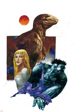 Marvel 1602: New World No.1 Cover: Hulk, Dare and Virginia Posters by Greg Tocchini