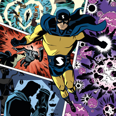 The Age Of The Sentry No.1 Cover: Sentry Prints by Dave Bullock