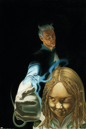 Son On M No.4 Cover: Quicksilver and Luna Prints by Roy Allan Martinez