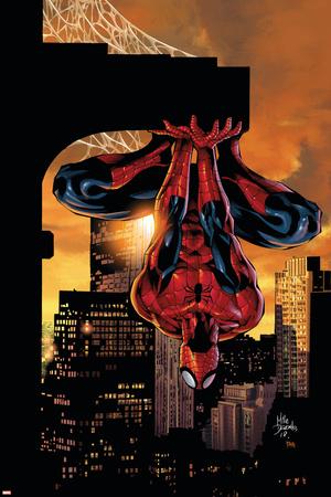 Amazing Spider-Man Family č. 2, obálka: Spider-Man Plakát