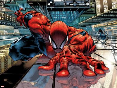 The Sensational Spider-Man No.23 Cover: Spider-Man Póster