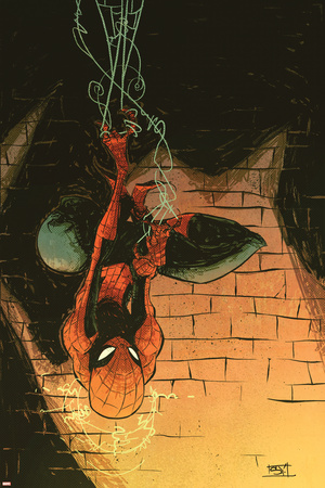 Marvel Adventures Spider-Man No.57 Cover: Spider-Man Posters by Skottie Young