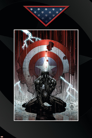 Fallen Son: The Death Of Captain America No.4 Cover: Spider-Man Charging Prints by David Finch