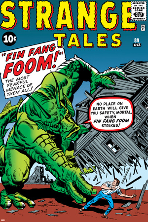 Journey Into Mystery No.62 Cover: Fin Fang Foom Poster by Jack Kirby