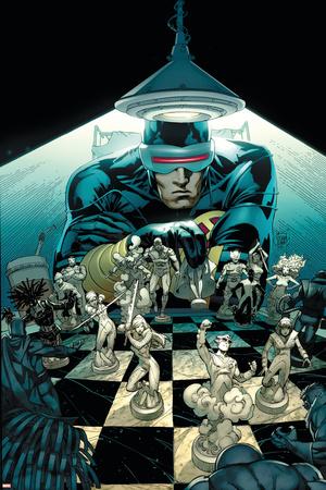 New Mutants No.10 Cover: Cyclops Poster by Adam Kubert