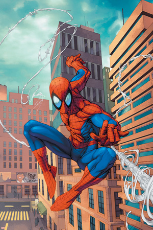 Marvel Age Spider-Man No.18 Cover: Spider-Man Posters by Roger Cruz
