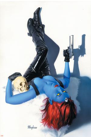 Mystique No.9 Cover: Mystique Posters