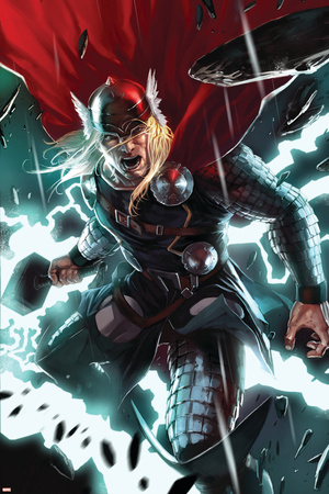 Thor No.8 Cover: Thor Poster