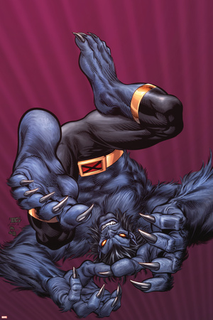X-Men Forever No.9 Cover: Beast Posters by Tom Grummett