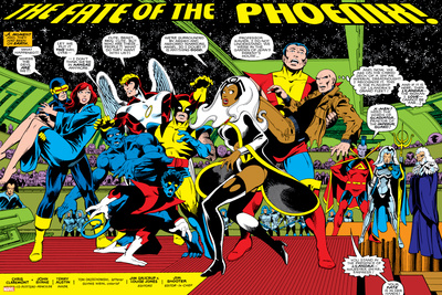 Phoenix: The Untold Story No.1 Group: Storm Posters by John Byrne