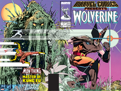 Marvel Comics Presents Wolverine No.1 Cover: Wolverine Prints by Walt Simonson