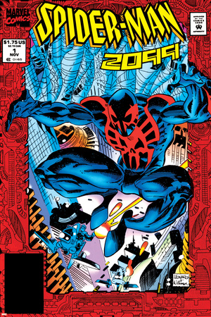 Spider-Man 2099 No.1 Cover: Spider-Man 2099 Poster by Rick Leonardi